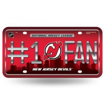 New Jersey Devils #1 Fan License Plate