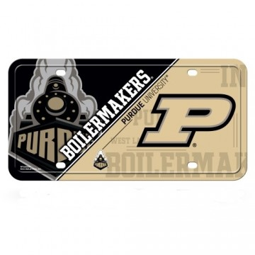 Purdue Boilermakers Metal License Plate