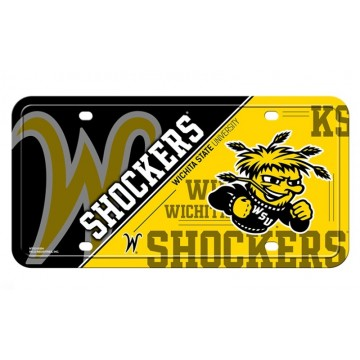 Wichita State Shockers Metal License Plate