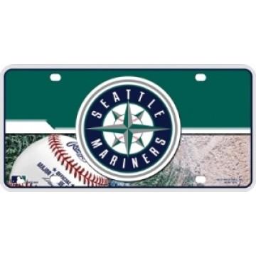 Seattle Mariners Metal License Plate