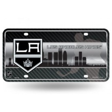 Los Angeles Kings Metal License Plate