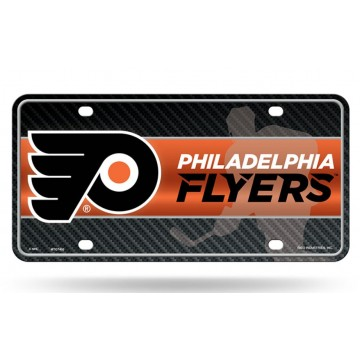 Philadelphia Flyers Metal License Plate