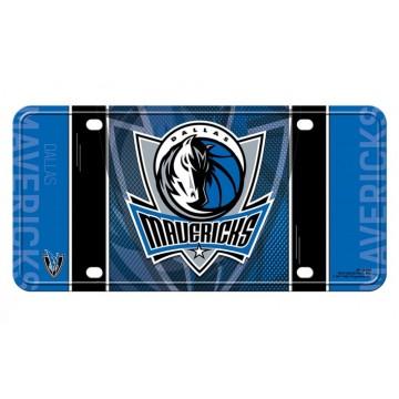 Dallas Mavericks Metal License Plate