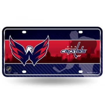 Washington Capitals Metal License Plate