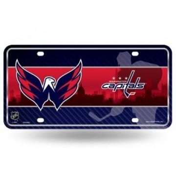 Washington Capitals Metal License Plate