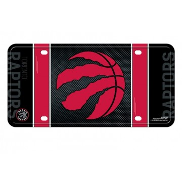 Toronto Raptors Metal License Plate