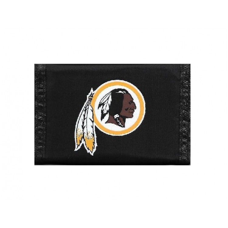 Washington Redskins Nylon Trifold Wallet