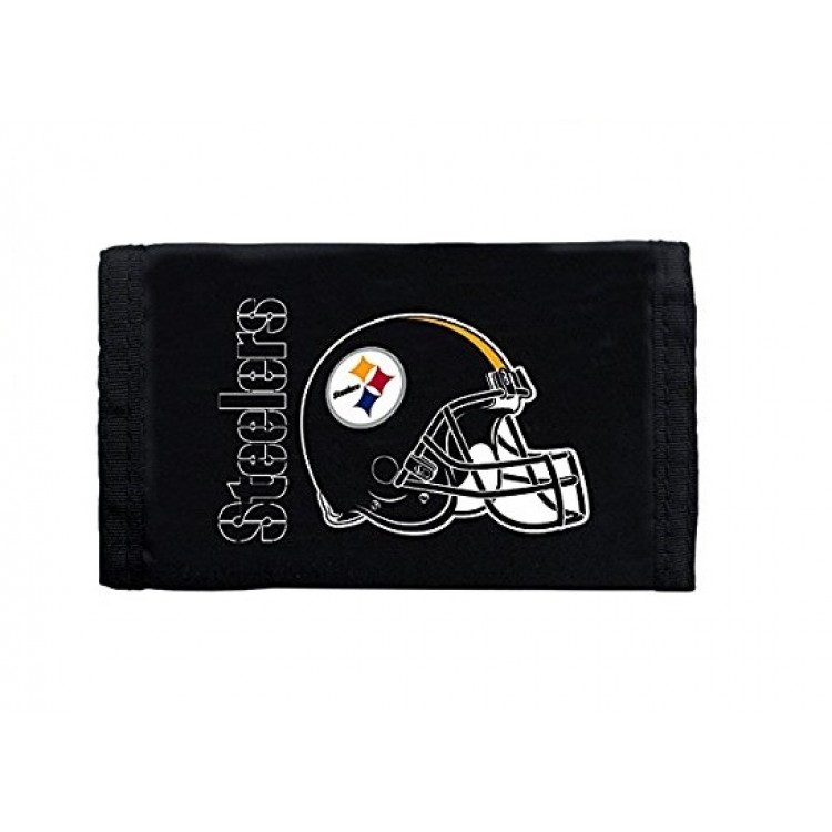 Pittsburgh Steelers Nylon Trifold Wallet