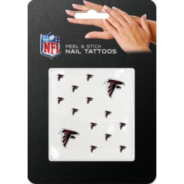 Atlanta Falcons Peel And Stick Nail Tattoos