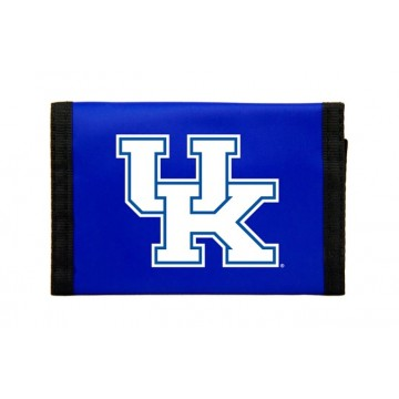 Kentucky Wildcats Nylon Trifold Wallet