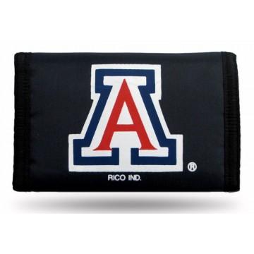 Arizona Wildcats Nylon Trifold Wallet