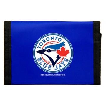 Toronto Blue Jays Nylon Trifold Wallet