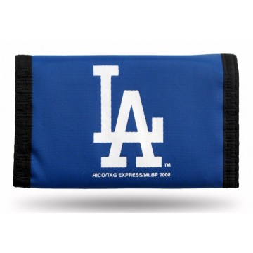 Los Angeles Dodgers Nylon Trifold Wallet