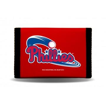 Philadelphia Phillies Nylon Trifold Wallet