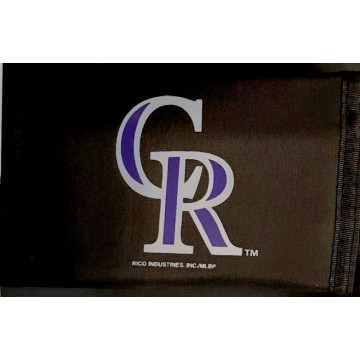 Colorado Rockies Nylon Trifold Wallet