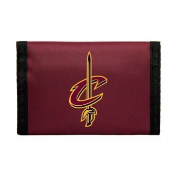 Cleveland Cavaliers Nylon Trifold Wallet