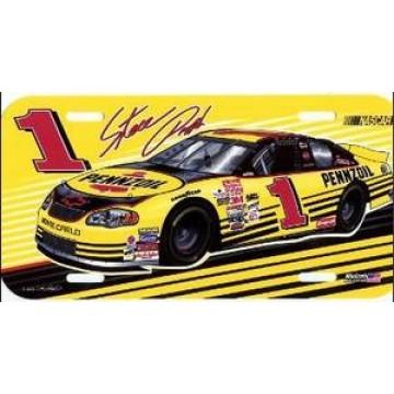 Steve Park #1 NASCAR Plastic License Plate