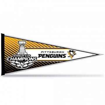 Pittsburgh Penguins 2016 Stanley Cup Champs Pennant