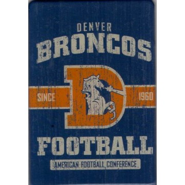 Denver Broncos Fridge Magnet