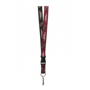 Arizona Cardinals Two Tone Lanyard With Safety Latch