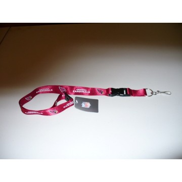 Arizona Cardinals Red Lanyard With Safety Latch