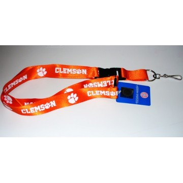 Clemson Tigers Lanyard With Safety Latch