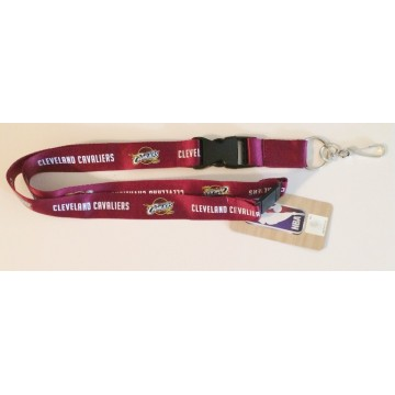 Cleveland Cavaliers Red Lanyard With Safety Latch