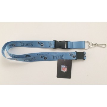 Tennessee Titans Blue Lanyard With Safety Latch