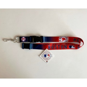 Boston Red Sox Crossover Lanyard With Safety Latch