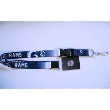 Los Angeles Rams Crossover Lanyard With Safety Latch