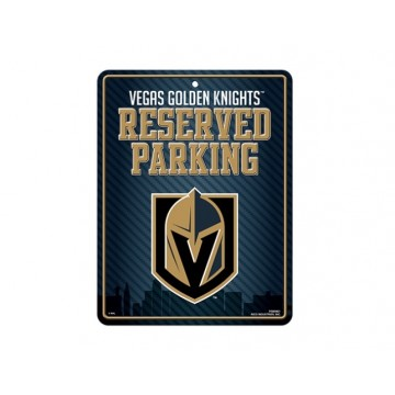 Las Vegas Golden Knights Metal Parking Sign
