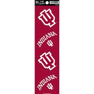 Indiana Hoosiers Quad Decal Set