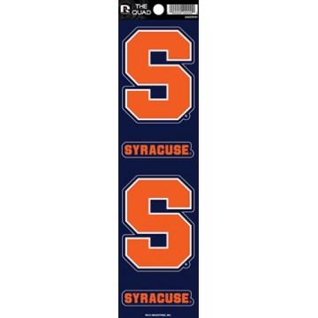 Syracuse Orange Quad Decal Set