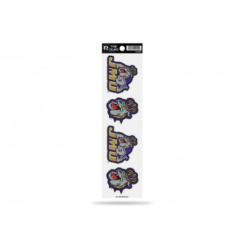 James Madison Dukes Quad Decal Set