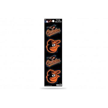 Baltimore Orioles Quad Decal Set