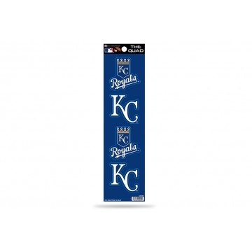 Kansas City Royals Quad Decal Set
