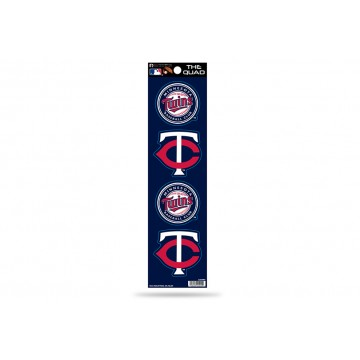 Minnesota Twins Quad Decal Set