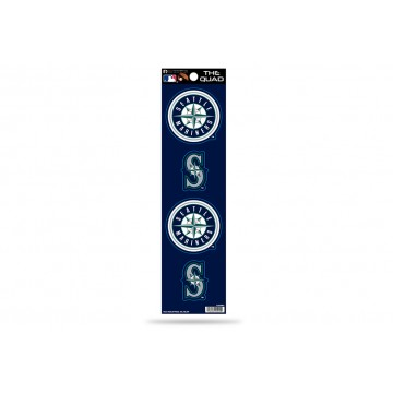 Seattle Mariners Quad Decal Set