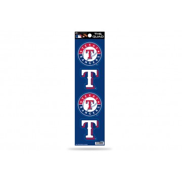 Texas Rangers Quad Decal Set