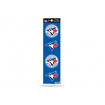 Toronto Blue Jays Quad Decal Set
