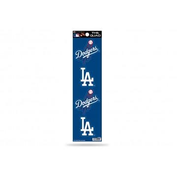 Los Angeles Dodgers Quad Decal Set