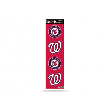 Washington Nationals Quad Decal Set