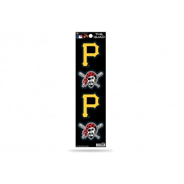 Pittsburgh Pirates Quad Decal Set