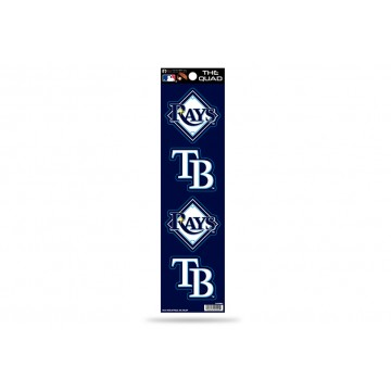 Tampa Bay Rays Quad Decal Set