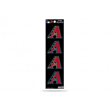 Arizona Diamondbacks Quad Decal Set