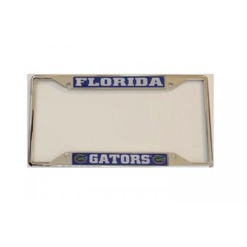 Florida Gators Chrome License Plate Frame