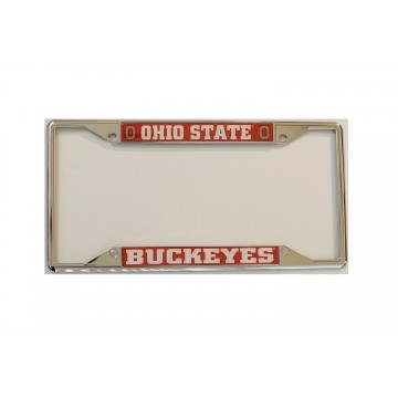 Ohio State Buckeyes Chrome License Plate Frame