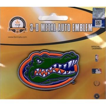 Florida Gators 3-D Color Metal Auto Emblem