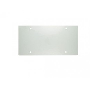 Clear Acrylic Mirror License Plate