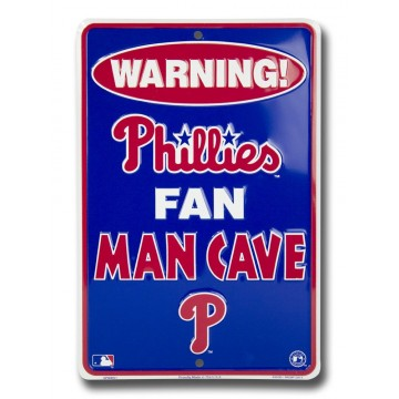 Philadelphia Phillies Fan Man Cave Parking Sign